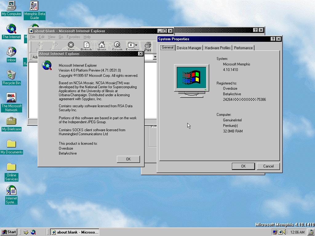 The origin of Windows 7's